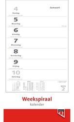 Weekspiraalkalender 2019 Quantore