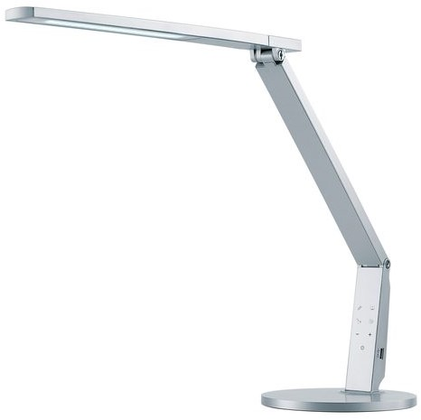 Bureaulamp Hansa led Vario Plus zilvergrijs-2
