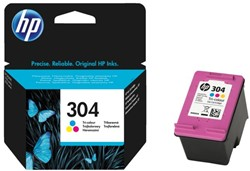 Inkcartridge HP 304 N9K05AE kleur