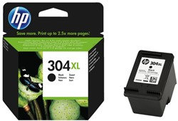 Inkcartridge HP 304XL N9K08AE zwart