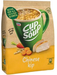 Cup-a-soup tbv dispenser Chinese kip zak met 40 porties