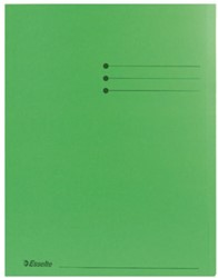 Inlegmap Esselte karton groen