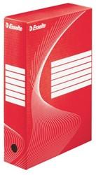 Archiefdoos Esselte boxy 80mm rood
