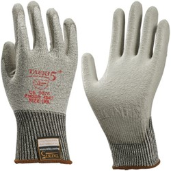 Handschoen snijbestendig Teaki 5 PU grijs extra large