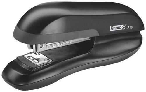Nietmachine Rapid F16 Halfstrip 20vel 24/6 zwart