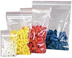 Verpakkingszak grip 100x150mm 50mu hersluitbaar 25 stuks