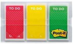 Indextabs 3M Post-it  682TODO rood/geel/groen