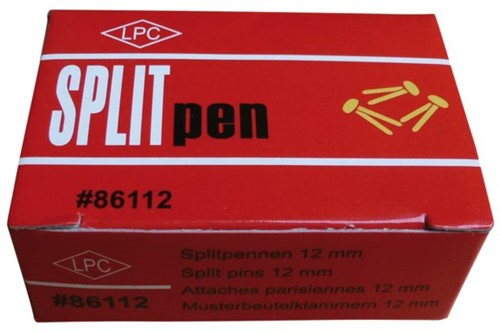 Splitpen LPC 38mm doos 100stuks koper