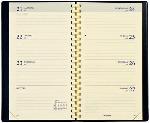 Agendavulling 2020 Brepols Interplan spiraal 7dag/2pag NL