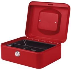 Geldkist Pavo 200x160x90mm rood