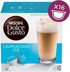 Koffie Dolce Gusto Cappuccino Ice 16 cups voor 8 kopjes