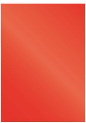 Voorblad Fellowes A4 Chromolux 250gr rood 100stuks
