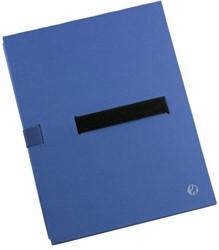 Bulkmap Jalema met klittenbandsluiting blauw