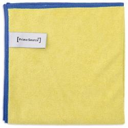 Microvezeldoek professional geel 38x38cm 10 stuks