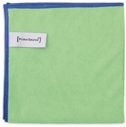 Microvezeldoek professional groen 38x38cm 10 stuks