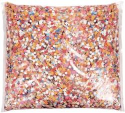 Confetti zak à 400gram