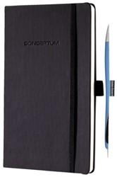 Notitieboek Conceptum A5 lijn CO122 zwart + balpen Rave