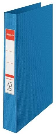 3905db9c21eb13 Ringband Esselte Vivida A4 4-rings O-mech 25mm PP blauw bij Tackburo