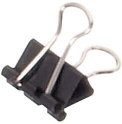 Papierklem Maul 213 Foldback 16mm capaciteit 5mm zwart