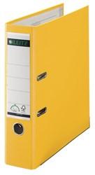 Ordner Leitz 1010 A4 80mm PP geel