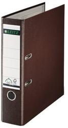Ordner Leitz 1010 A4 80mm PP bruin