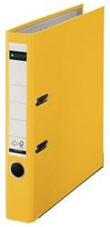 Ordner Leitz A4 50mm PP geel