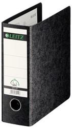 Ordner Leitz 1075 A5 staand 77mm karton zwart