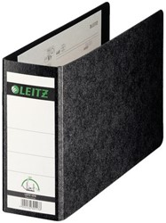 Ordner Leitz 1076 A5 dwars 77mm karton zwart