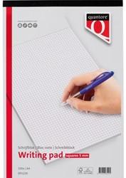 Schrijfblok Quantore A4 ruit 5mm