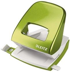 Perforator Leitz 5008 WOW 2-gaats 30vel groen