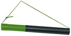 Tekeningkoker Linex zoom 124cm doorsnee 7,5cm zwart