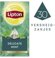 Thee Lipton Exclusive Subtile Mint 30 piramidezakjes