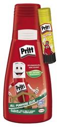 Alleslijm Pritt flacon 100gram met gratis glitter lijmstift