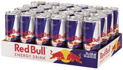 Energy drank red bull blikje 0.25l