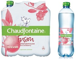 Water Chaudfontaine Fusion Pompelmoes petfles 0.50l