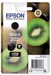 Inkcartridge Epson 202 T02E14 zwart