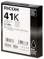 Gelcartridge Ricoh 405761 GC-41K zwart