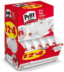 Correctieroller Pritt Eco Flex 4.2mm valuepack 12+4