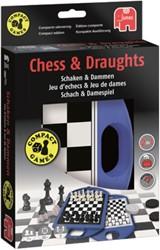 Spel Jumbo schaken & dammen travel