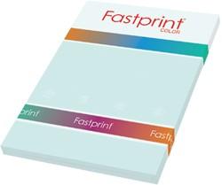 Kopieerpapier Fastprint A4 120gr lichtblauw 100vel
