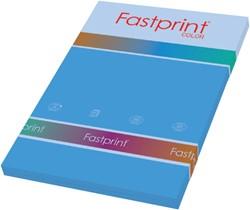 Kopieerpapier Fastprint A4 120gr diepblauw 100vel