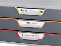 Ladenbox Durable Varicolor 3 laden grijs-2