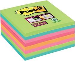 Memoblok 3M Post-it 654-SSRB Super Sticky 76x76mm rainbow
