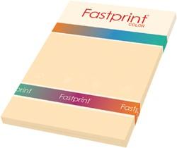 Kopieerpapier Fastprint A4 120gr creme 100vel