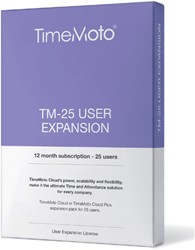 TimeMoto TM-25 CLOUD user expansion