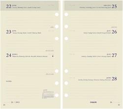 Agendavulling 2019 Brefax 17 7dag/2pagina 6talig