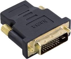 Adapter Hama HDMI-DVI/D zwart