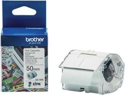 Labeltape Brother CZ-1005 50mmX5m kleur opdruk