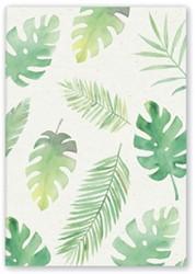 Schrift teNeues green floral 148x210mm 48blz