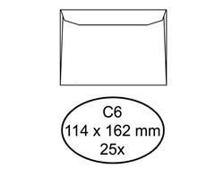 Envelop Budget bank 114X162mm wit